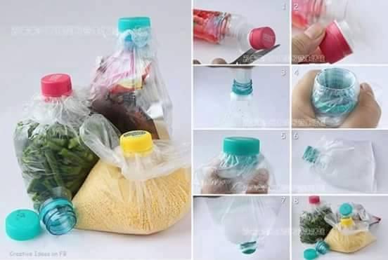 diy ιδέες με πλαστικά μπουκάλια3