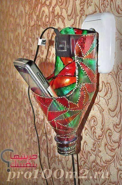 diy ιδέες με πλαστικά μπουκάλια6