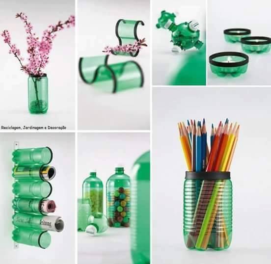 diy ιδέες με πλαστικά μπουκάλια7
