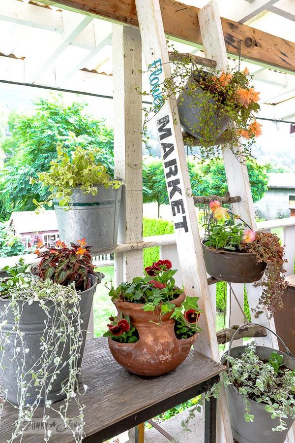 κάθετες ιδέες κηπουρικής35