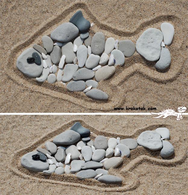 τέχνη στην άμμο1