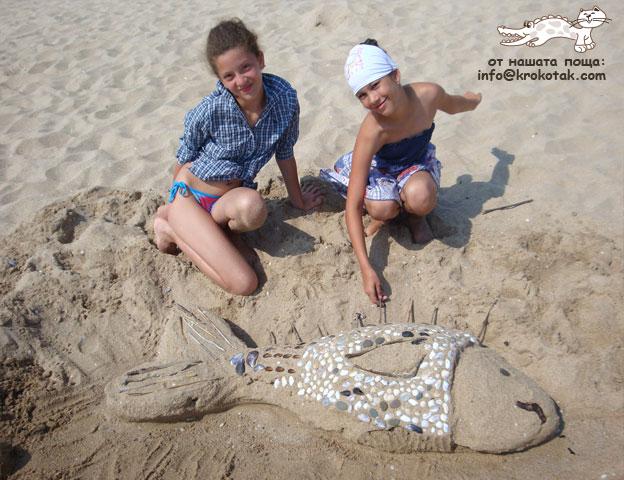 τέχνη στην άμμο4