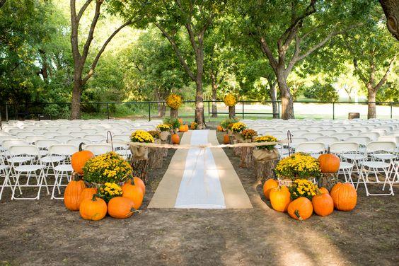 Φθινοπωρινός γάμος ιδέες1