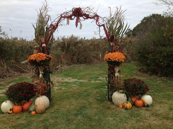 Φθινοπωρινός γάμος ιδέες3