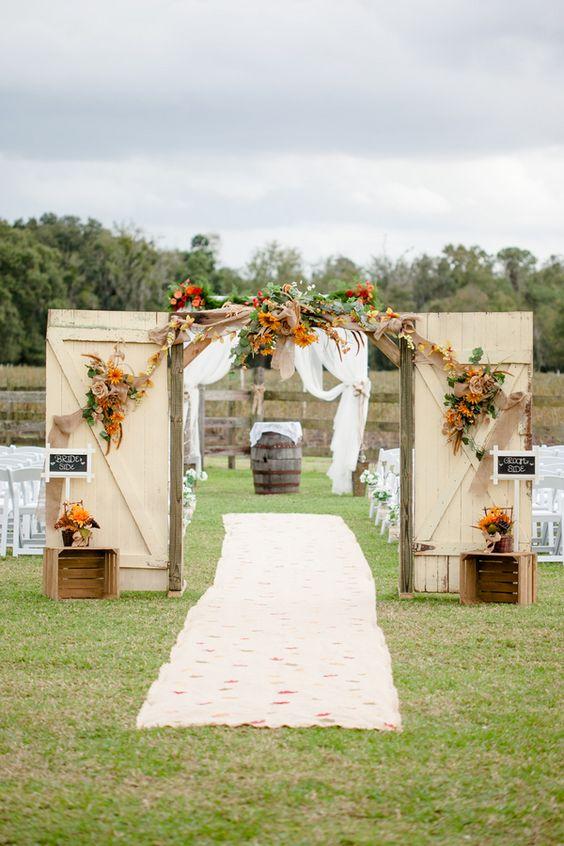 Φθινοπωρινός γάμος ιδέες4