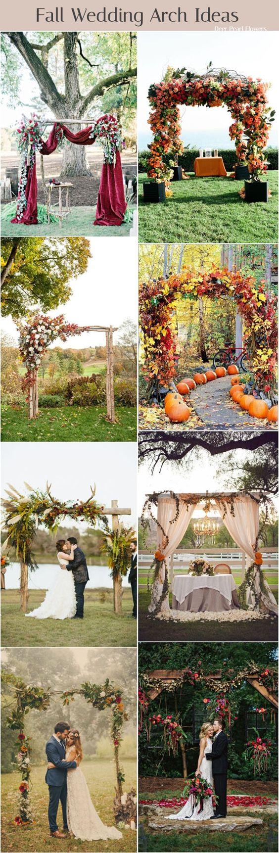 Φθινοπωρινός γάμος ιδέες8