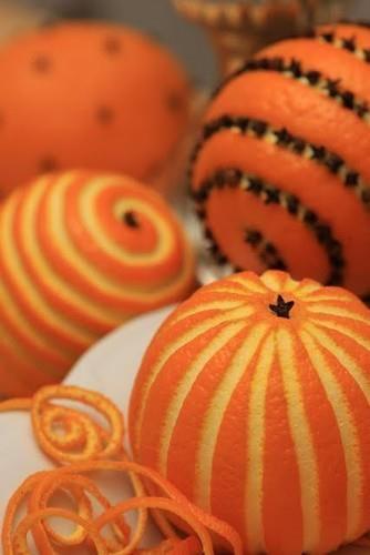 Αρωματική διακόσμηση με μανταρίνια και πορτοκάλια1