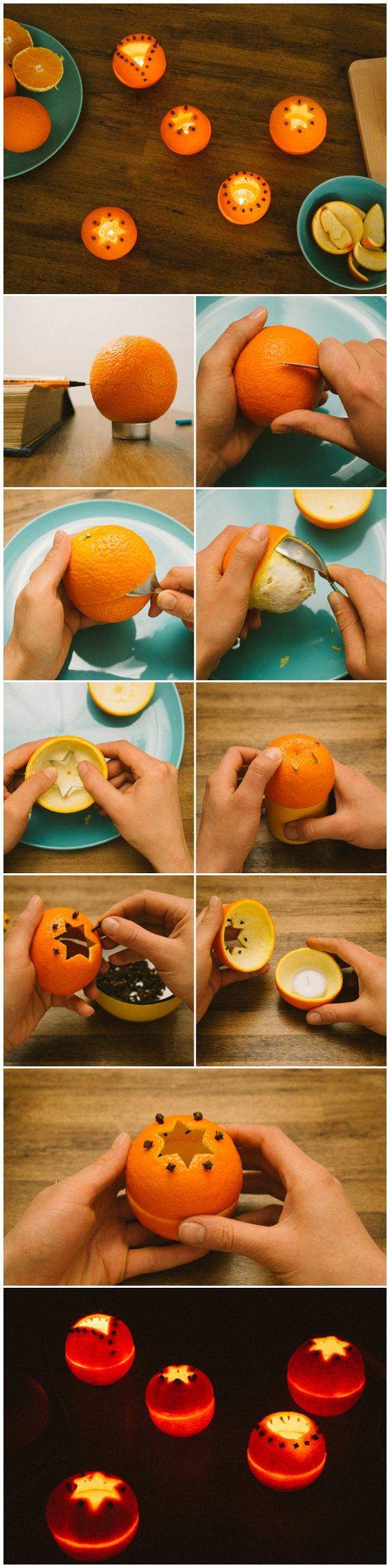 Αρωματική διακόσμηση με μανταρίνια και πορτοκάλια10