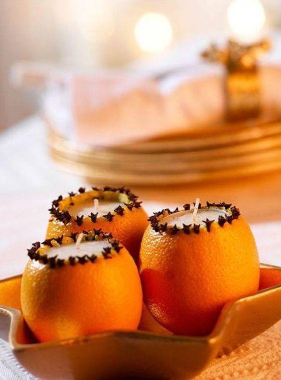 Αρωματική διακόσμηση με μανταρίνια και πορτοκάλια11