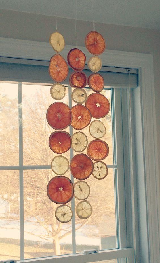 Αρωματική διακόσμηση με μανταρίνια και πορτοκάλια13