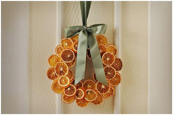 Αρωματική διακόσμηση με μανταρίνια και πορτοκάλια14