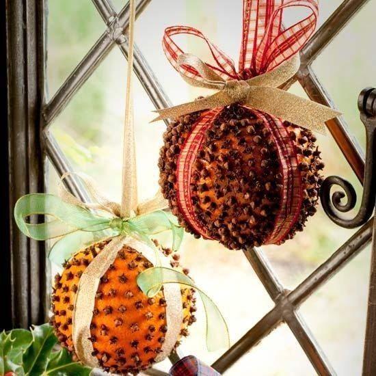 Αρωματική διακόσμηση με μανταρίνια και πορτοκάλια15