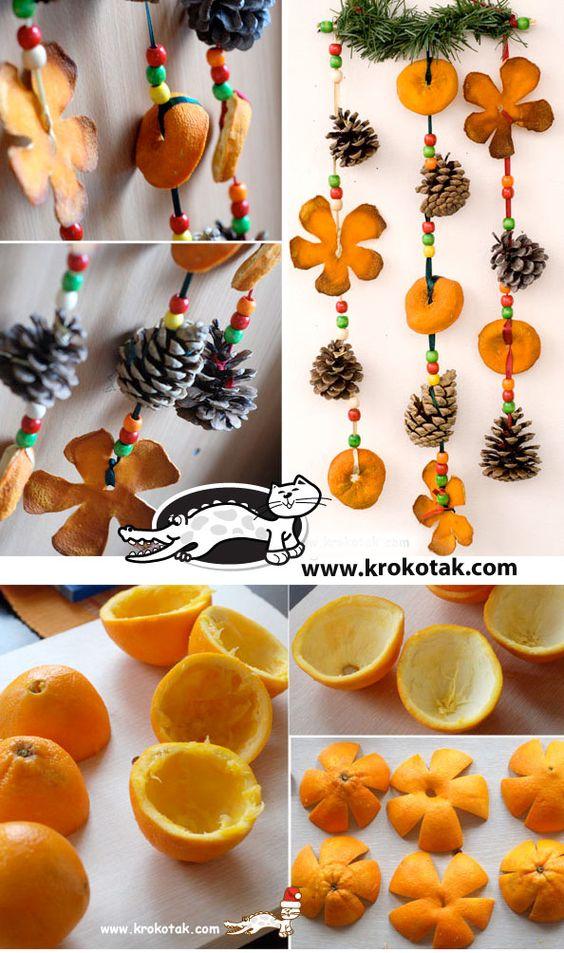 Αρωματική διακόσμηση με μανταρίνια και πορτοκάλια17