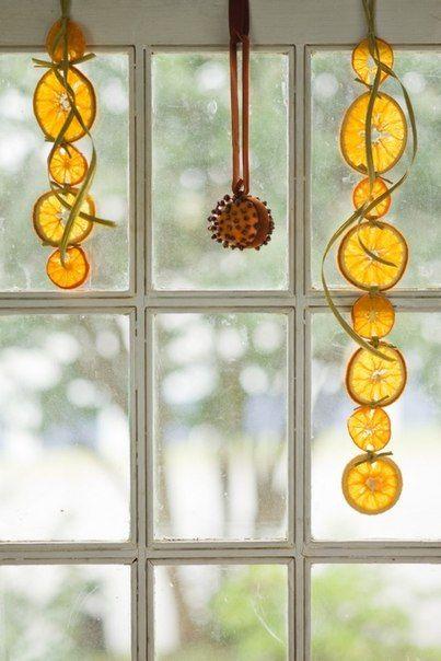 Αρωματική διακόσμηση με μανταρίνια και πορτοκάλια18