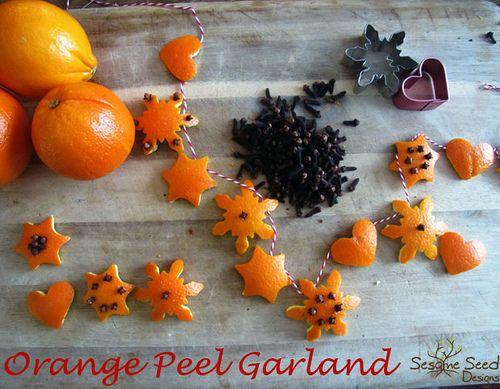 Αρωματική διακόσμηση με μανταρίνια και πορτοκάλια19