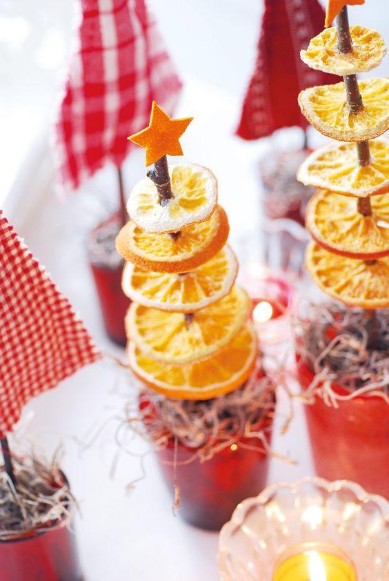 Αρωματική διακόσμηση με μανταρίνια και πορτοκάλια2