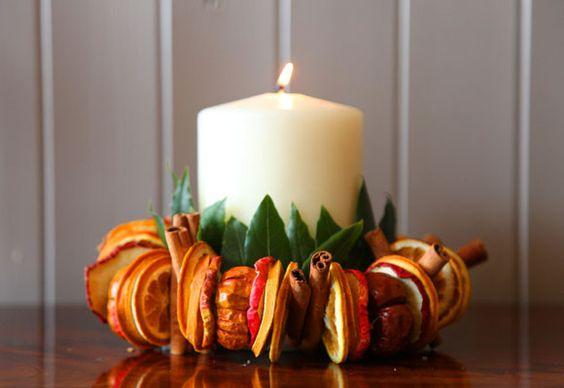 Αρωματική διακόσμηση με μανταρίνια και πορτοκάλια20