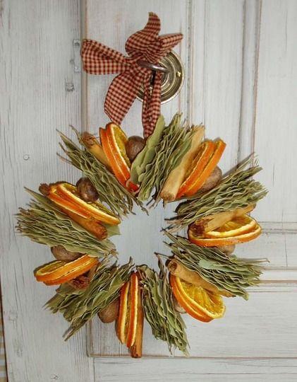 Αρωματική διακόσμηση με μανταρίνια και πορτοκάλια7