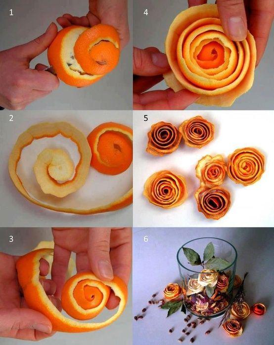 Αρωματική διακόσμηση με μανταρίνια και πορτοκάλια8