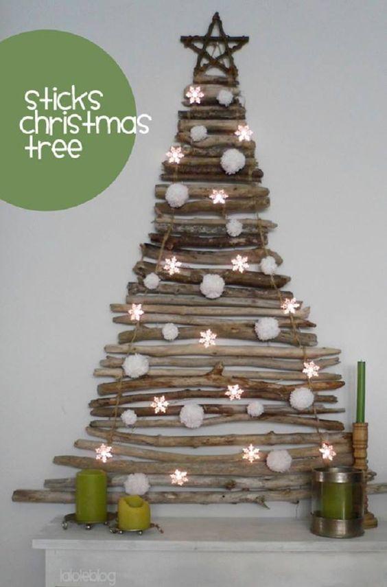 Χριστουγεννιάτικο δέντρο για μικρούς χώρους10
