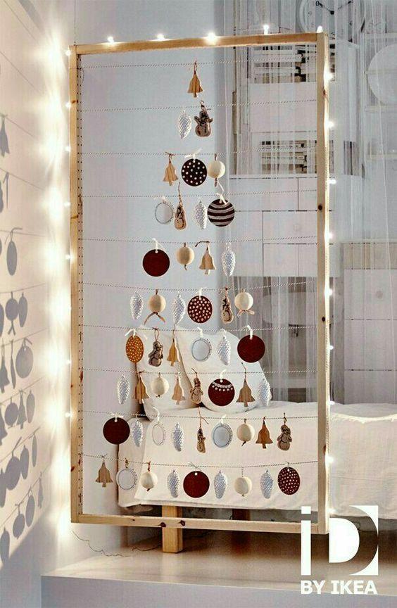Χριστουγεννιάτικο δέντρο για μικρούς χώρους2