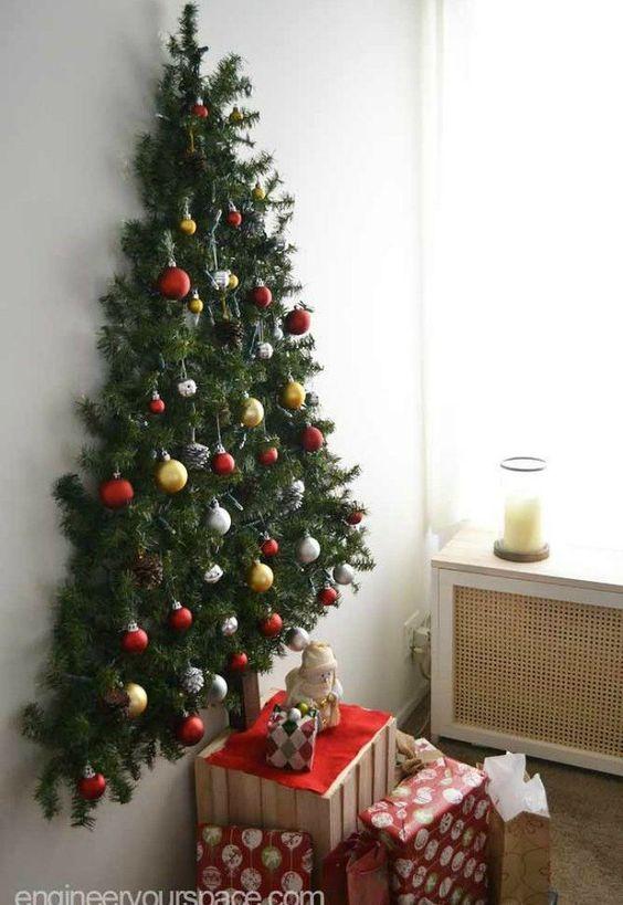 Χριστουγεννιάτικο δέντρο για μικρούς χώρους24