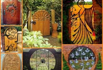 Μοναδικές ιδέες με πόρτες κήπου