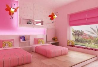 15 Υπέροχα Σχέδια Παιδικού Δωμάτιου για δύο κορίτσια