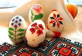 Κεντητά πασχαλινά αυγά | Οδηγίες για το πώς να το κάνετε και έμπνευση