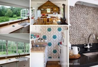 18 Ιδέες Διακόσμησης που πρέπει να δείτε  για να κάνετε τοίχο της κουζίνας σας φαίνεται καταπληκτικός