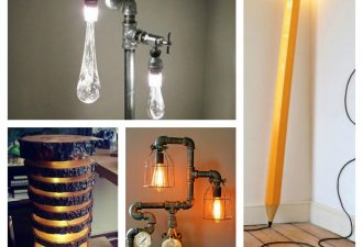 30 δημιουργικές ιδέες με απίθανα φωτιστικά