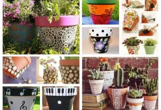 Ιδέες σχεδιασμού κήπου με πολύχρωμες γλάστρες