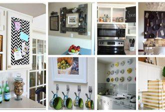 Τρομερές DIY Ιδέες ντεκόρ κουζίνας που μπορείτε εύκολα να κάνετε μόνοι σας