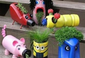Ενδιαφέρουσες ιδέες diy χρήσης πλαστικών μπουκαλιών