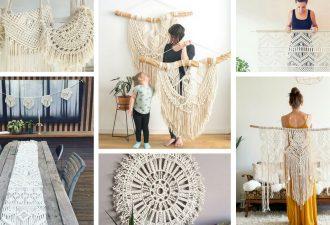 Σύγχρονο μακραμέ: 27 μοντέρνες και μοδάτες ιδέες για διακόσμηση στο σπίτι
