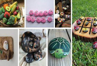 20 Απίθανες DIY ιδέες με πέτρες και βότσαλα: κατασκευές που θα ομορφύνουν τη ζωή σας