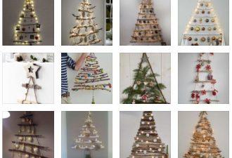 Δείτε τις καλύτερες ιδέες για ένα σκανδιναβικό Χριστουγεννιάτικο δέντρο τοίχου από κλαδιά